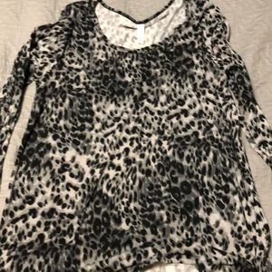 LuLaroe Irma in black cheetah